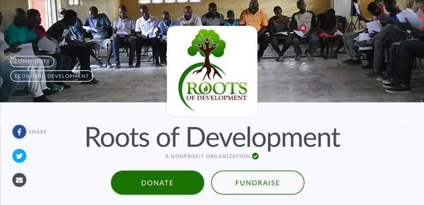 Roots of Development needs your help raising funds for three important projects