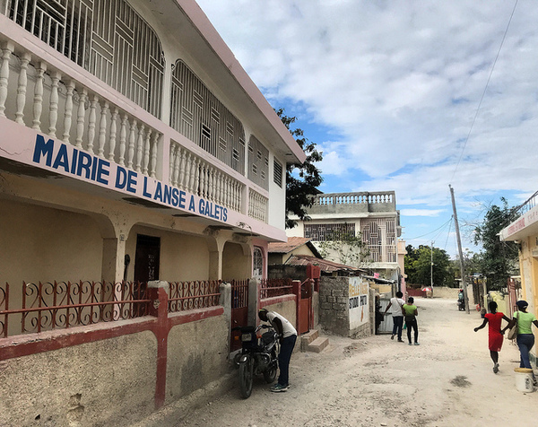 The Mayor's office in Anse-a-Galets